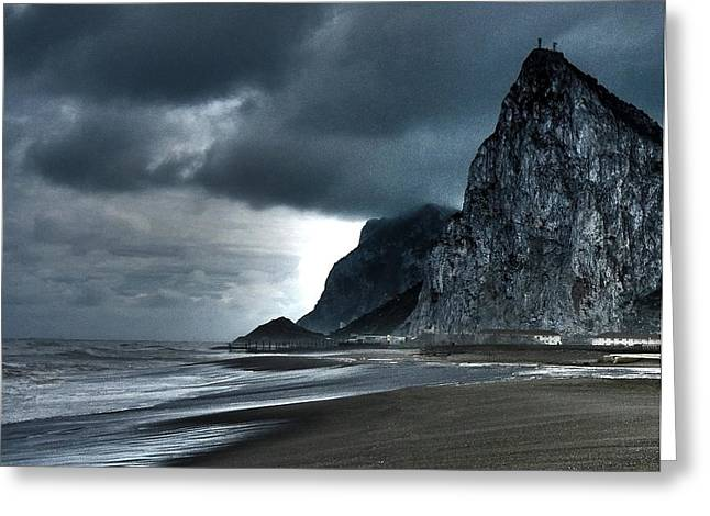The Rock ... Greeting Card by Juergen Weiss