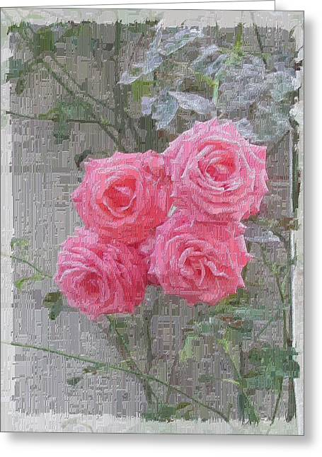 Rose Petals Greeting Cards - The Rose 1 Greeting Card by Tim Allen