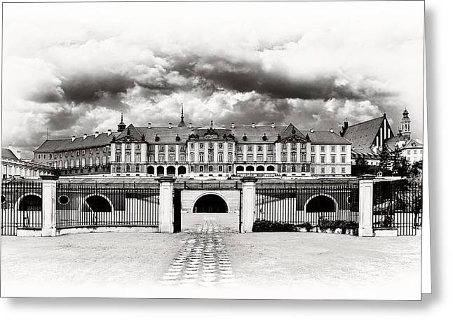 Best Sellers -  - Polish Culture Greeting Cards - The Royal Castle in Warsaw Greeting Card by Viktor Korostynski