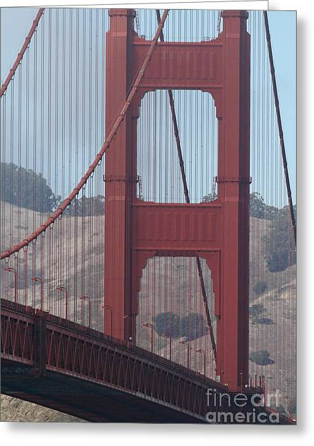 The San Francisco Golden Gate Bridge - 7d19061 Greeting Card by Wingsdomain Art and Photography