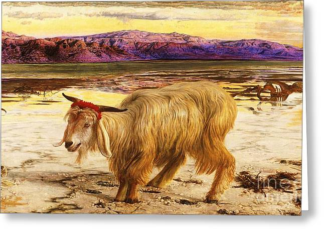 Scapegoat Greeting Cards - The Scapegoat Greeting Card by Pg Reproductions