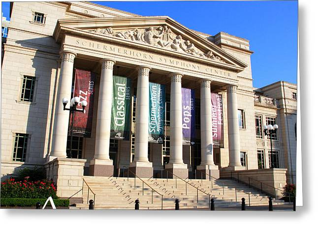 Architecture Of Nashville Greeting Cards - The Schermerhorn Symphony Center Greeting Card by Susanne Van Hulst