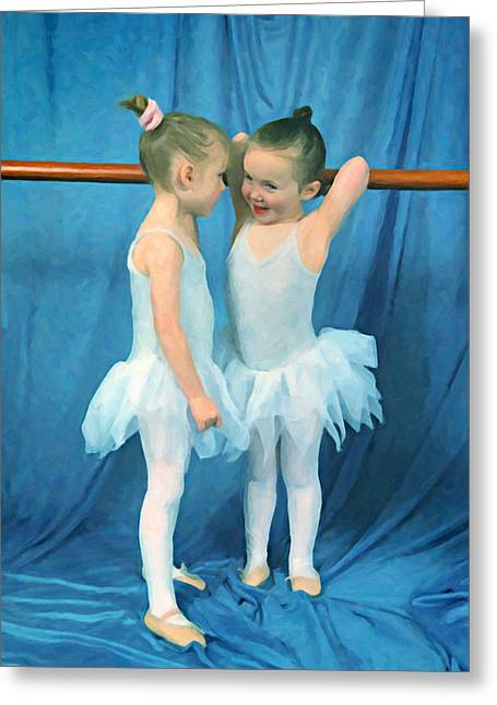 Ballet Bar Greeting Cards - The Secret Greeting Card by Martin  Fry