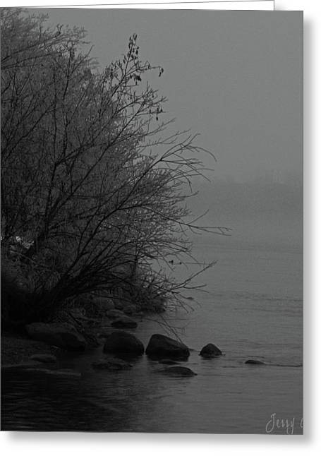 Edmonton Photographer Greeting Cards - The Shore Greeting Card by Jerry Cordeiro