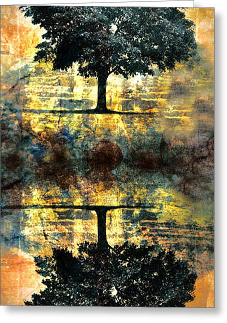 Tree Greeting Cards - The Small Dreams of Trees Greeting Card by Tara Turner