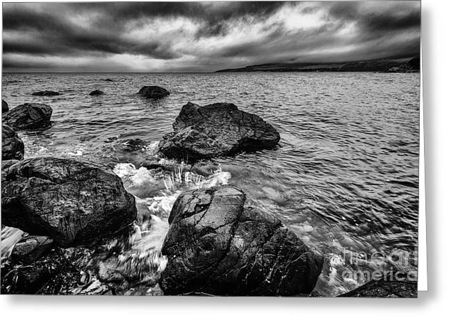 Ayrshire Greeting Cards - The sound of the waves Greeting Card by John Farnan