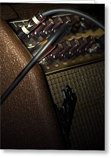 The Sound Of Vintage Tweed  Greeting Card by Steven  Digman