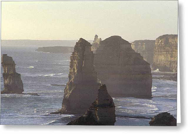 Spectacular Greeting Cards - The Spectacular Twelve Apostles Greeting Card by Jason Edwards
