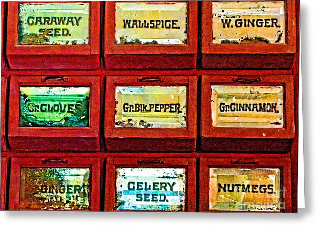The Spice of Life Greeting Card by Colleen Kammerer