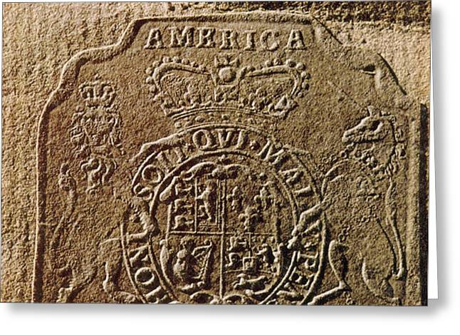 The Stamp Act Greeting Card by Photo Researchers