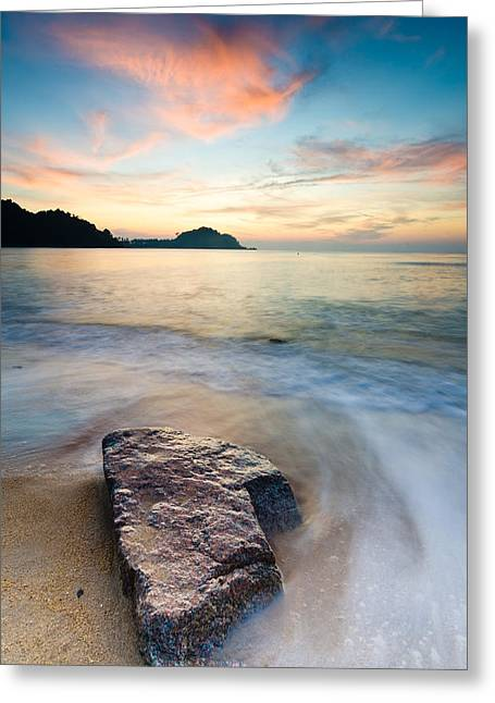 The Stone Greeting Card by Yusri Salleh