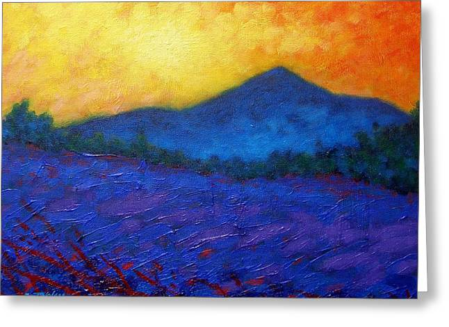 Yule Greeting Cards - The Sugar Loaf - County wicklow Greeting Card by John  Nolan