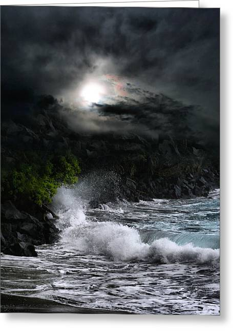 Ocean Art Photography Greeting Cards - The Supreme Soul Greeting Card by Sharon Mau