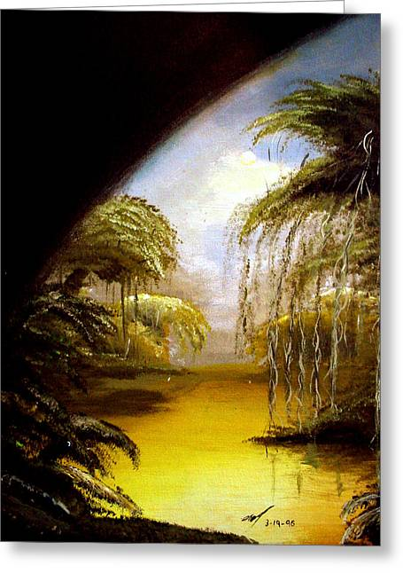Michael Mckenzie Greeting Cards - The Swamp Greeting Card by Michael McKenzie