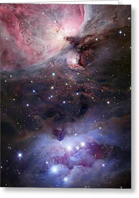 Interstellar Space Photographs Greeting Cards - The Sword Of Orion Greeting Card by Robert Gendler