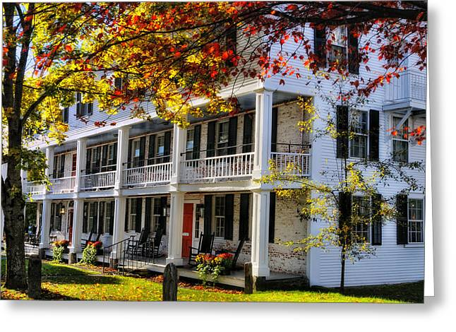 Grafton Vermont Greeting Cards - The Tavern at Grafton - Grafton Vermont Greeting Card by Thomas Schoeller