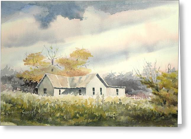 Farm House Greeting Cards - The Thompson Place Greeting Card by Sam Sidders