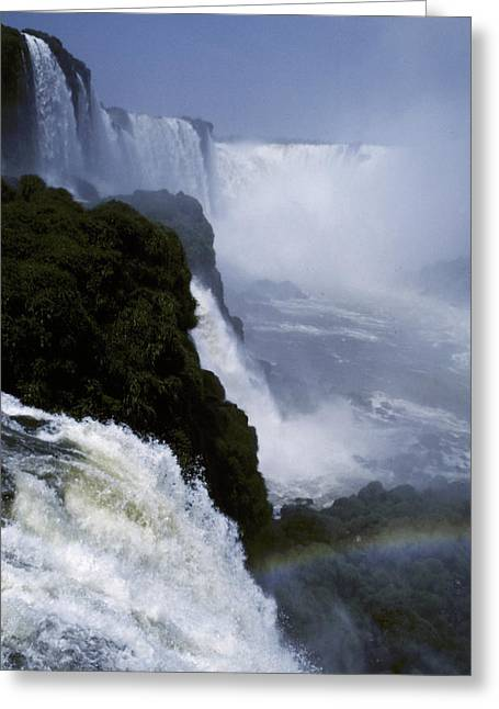 River Of Life Greeting Cards - The Thunderous Roar Of The Devils Greeting Card by Jason Edwards