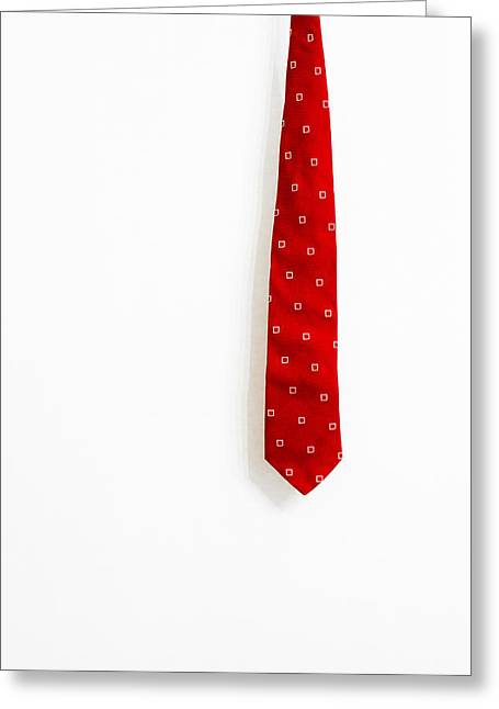Neckties Greeting Cards - The Tie Greeting Card by Walter Quirtmair