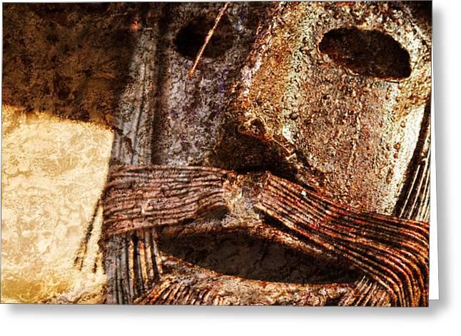 The Tin Man Greeting Card by Kathy Clark