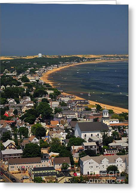 Artists Colony Greeting Cards - The Tip of Old Cape Cod Greeting Card by Catherine Reusch  Daley