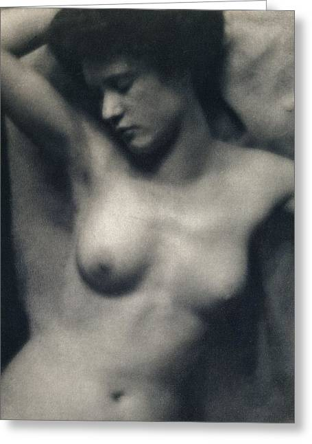 Sex Greeting Cards - The Torso Greeting Card by White and Stieglitz