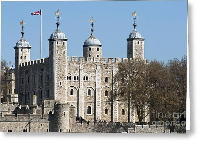 London Greeting Cards - The Tower of London Greeting Card by Andrew  Michael