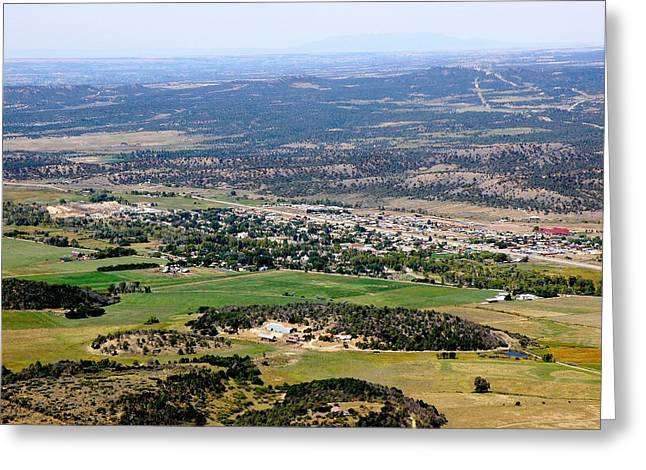 Mancos Greeting Cards - The Town of Mancos Greeting Card by FeVa  Fotos
