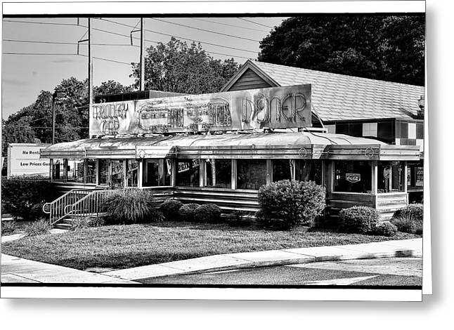 Germantown Greeting Cards - The Trolley Car Diner - Chestnut Hill Philadelphia Greeting Card by Bill Cannon
