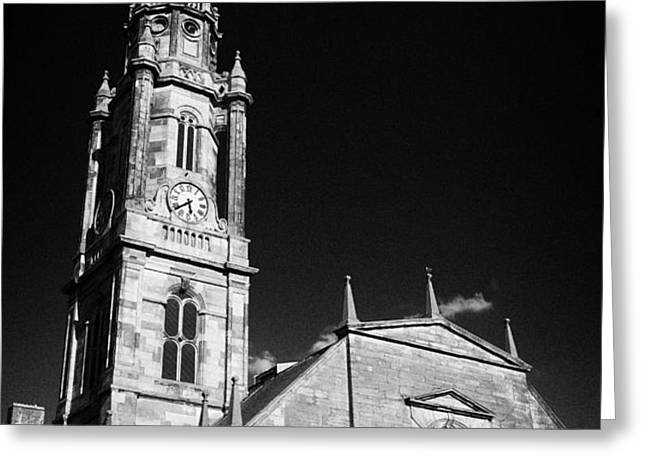 the tron church edinburgh scotland uk united kingdom Greeting Card by Joe Fox