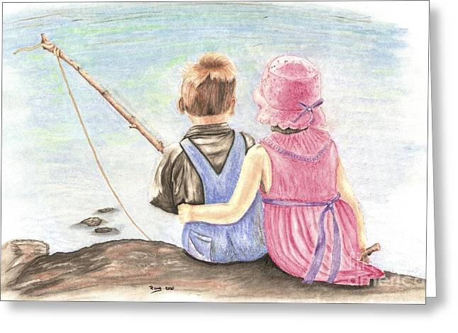 Relaxed Pastels Greeting Cards - The Ultimate Fishing Trip Greeting Card by Russ  Smith