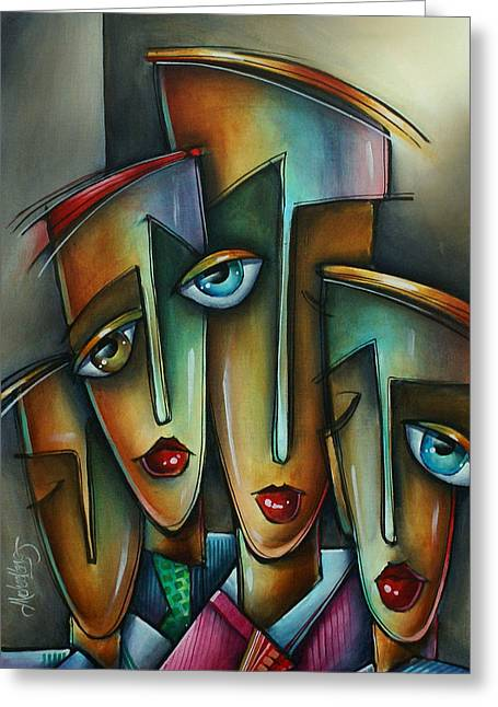 The Union Greeting Card by Michael Lang