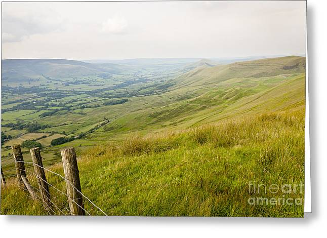 Vale Greeting Cards - The Vale Of Edale  Greeting Card by Martyn Williams
