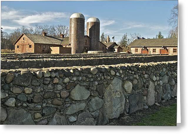 Stoney Creek Greeting Cards - The Van Hoosen Farm 3526 Greeting Card by Michael Peychich