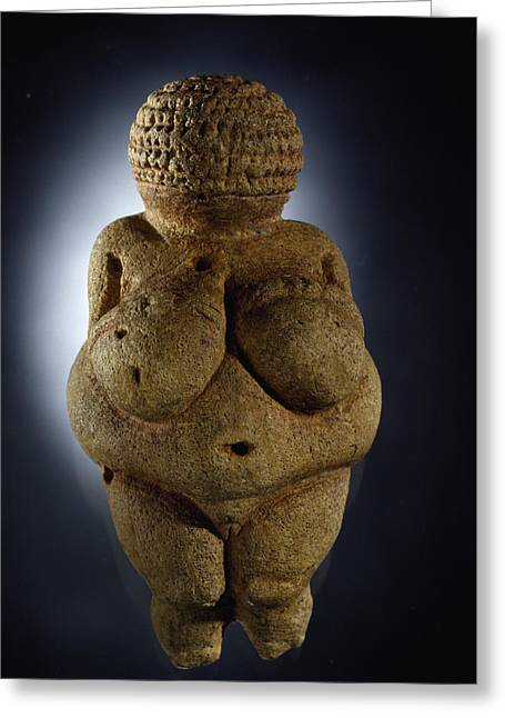 Number Of Objects Greeting Cards - The Venus Of Willendorf Is Commonly Greeting Card by Ira Block