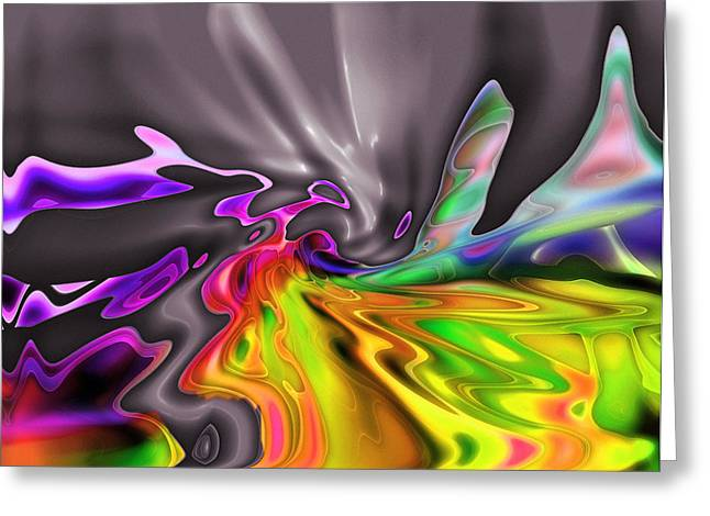 The Victory Of The Colors Greeting Card by Stefan Kuhn