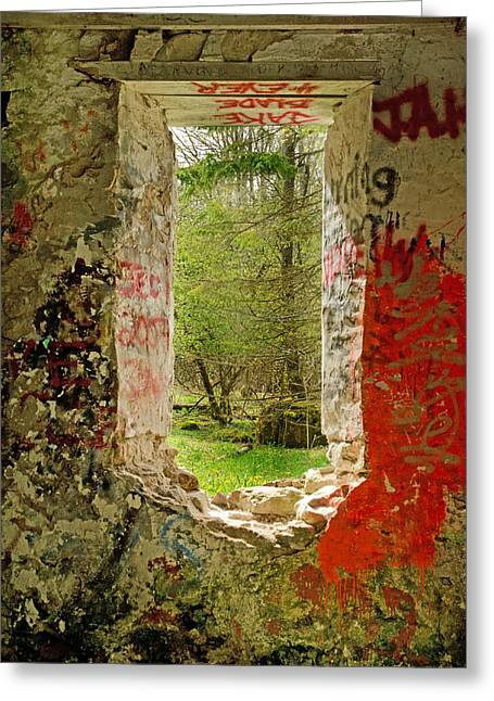 Photohraphy Greeting Cards - The View Greeting Card by Cheryl Cencich