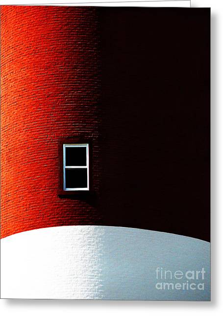 Lighthouse Greeting Cards - The View Greeting Card by Dana DiPasquale