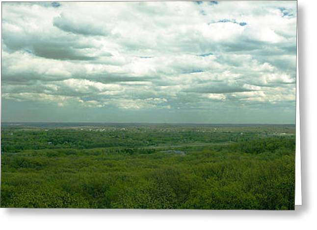 Owner Greeting Cards - The View from Lapham Peak Greeting Card by Jan Faul