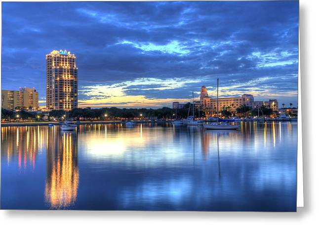 St. Petersburg Greeting Cards - The Vinoy II Greeting Card by Bao D