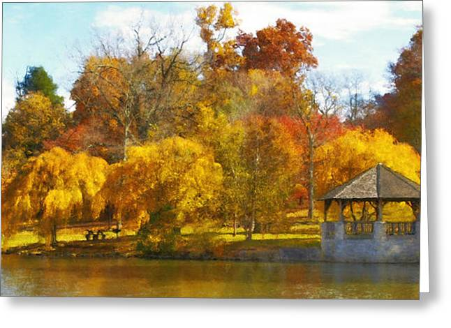 Fall Photographs Greeting Cards - The VT Duck Pond Greeting Card by Kathy Jennings