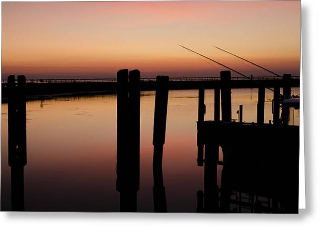 Sunset Prints Greeting Cards - The Wait Greeting Card by Jason Naudi Photography