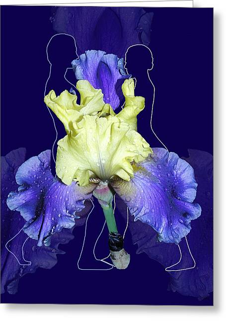 Floral Digital Art Digital Art Greeting Cards - The Way We Were Greeting Card by Torie Tiffany