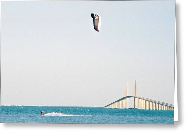 Florida Bridge Greeting Cards - The Weekend.. Greeting Card by Al  Swasey