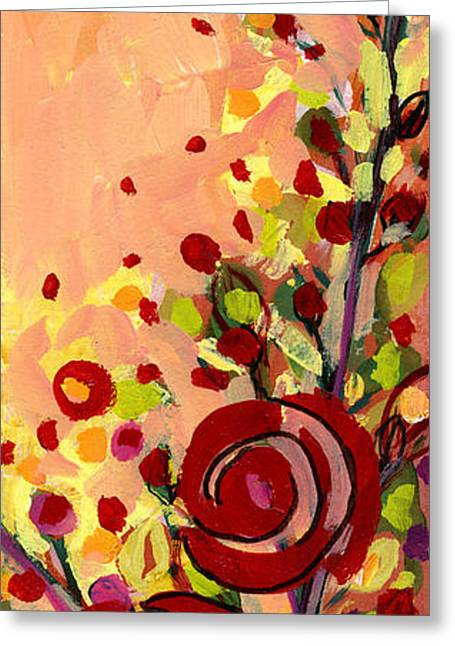 Diptych Greeting Cards - The Wild Roses Greeting Card by Jennifer Lommers
