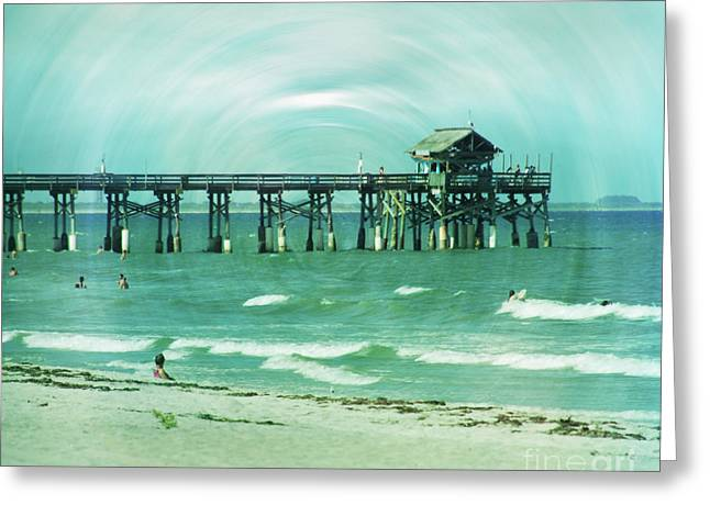 Florida House Greeting Cards - The World is still here Greeting Card by Susanne Van Hulst