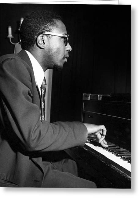 Thelonius Monk Greeting Cards - Thelonious Sphere Monk Greeting Card by Granger