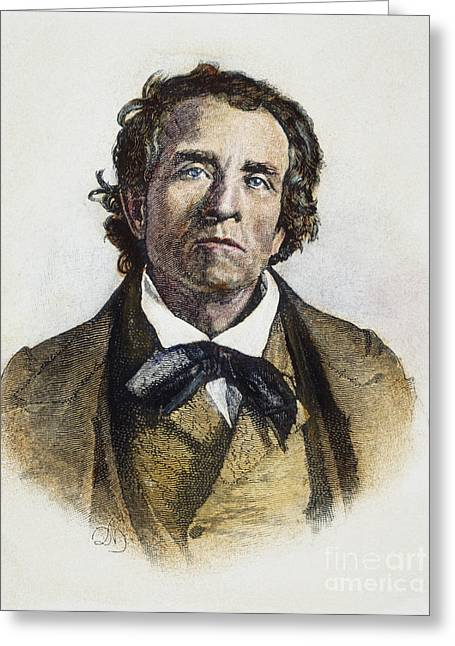 Abolition Greeting Cards - Theodore Weld (1803-1895) Greeting Card by Granger