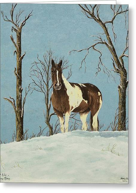 There Is A Season Greeting Card by Mary Ann King