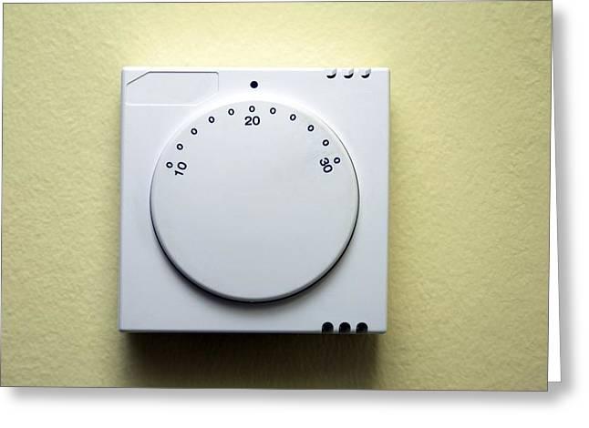 Thermostat Greeting Cards - Thermostat Greeting Card by Victor De Schwanberg